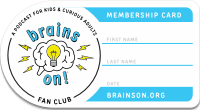 Brains OnMembership Card